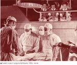 Student Nurses in Surgical Ampitheatre, 1950s