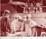Student Nurses in Surgical Ampitheatre, 1950s