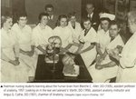 Freshman Nursing Students Learning about the Human Brain from Blanche C. Allen, DO. (1935), Assistant Professor of Anatomy