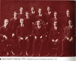 Sigma Epsilon Fraternity, 1914