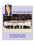 Physician Assistant Class of 2003 by Philadelphia College of Osteopathic Medicine